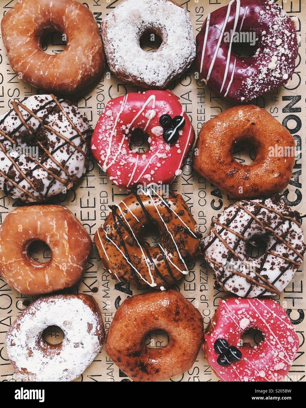 Alimentos agujero Imagen De Stock