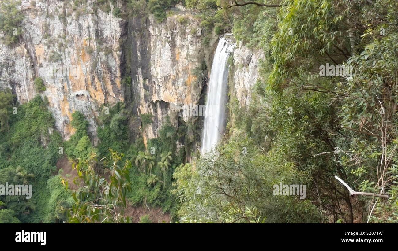 Purling Brook Falls Foto de stock