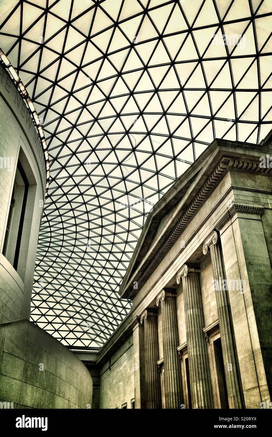 Museo Británico, Londres Imagen De Stock