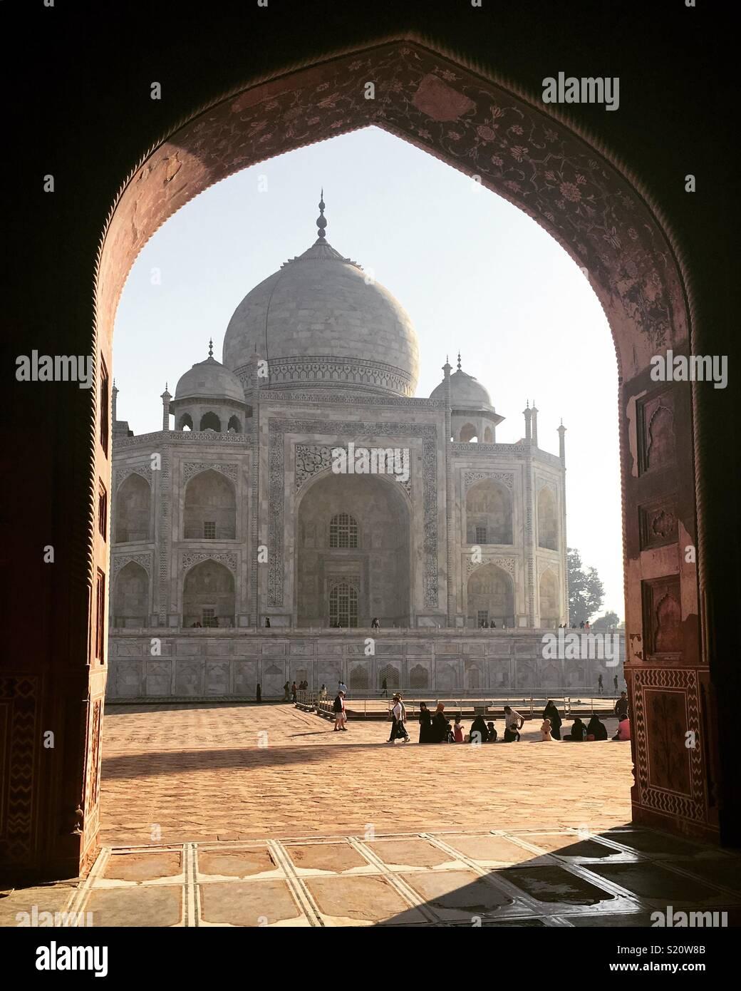 Taj Mahal - Agra, India Imagen De Stock