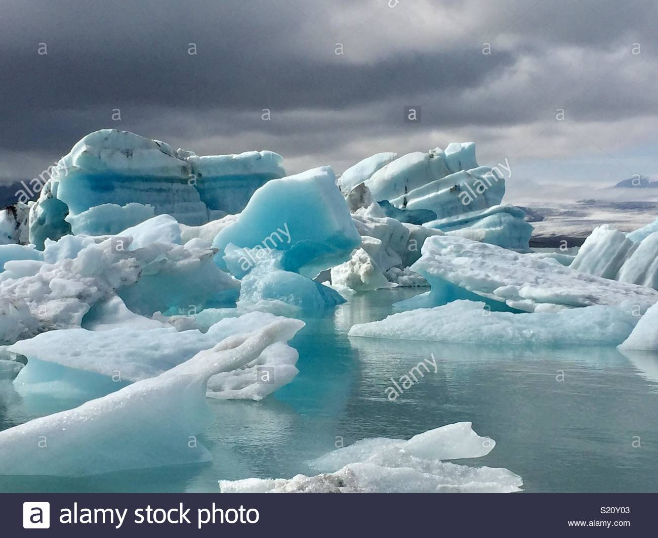 Icebergs Imagen De Stock