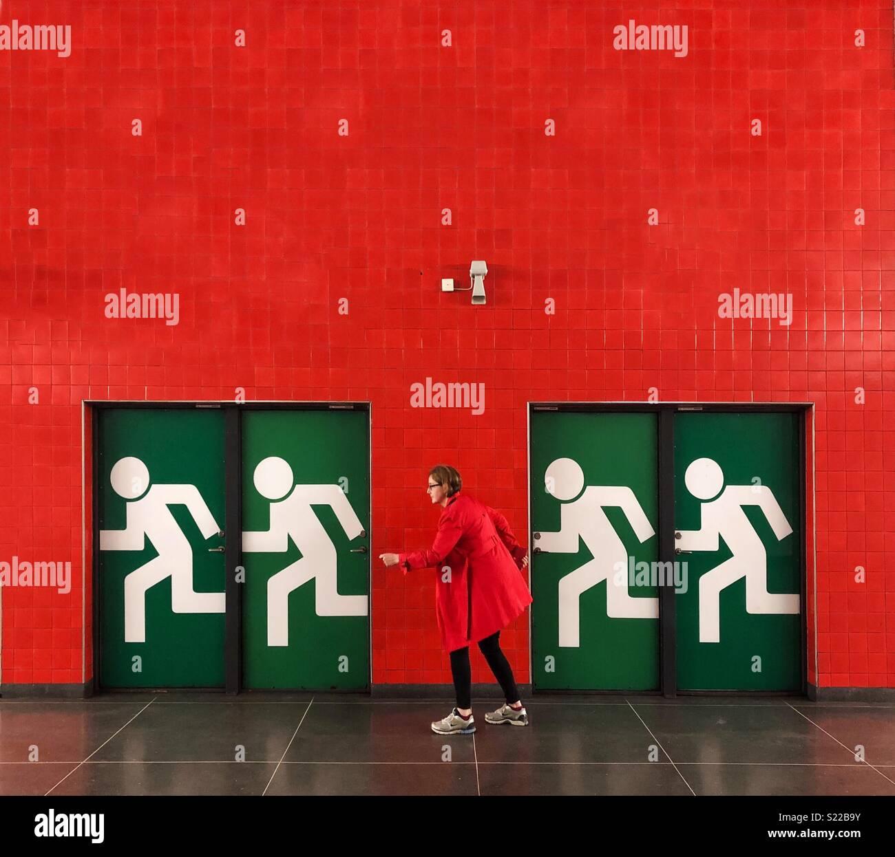 Rojo Imagen De Stock