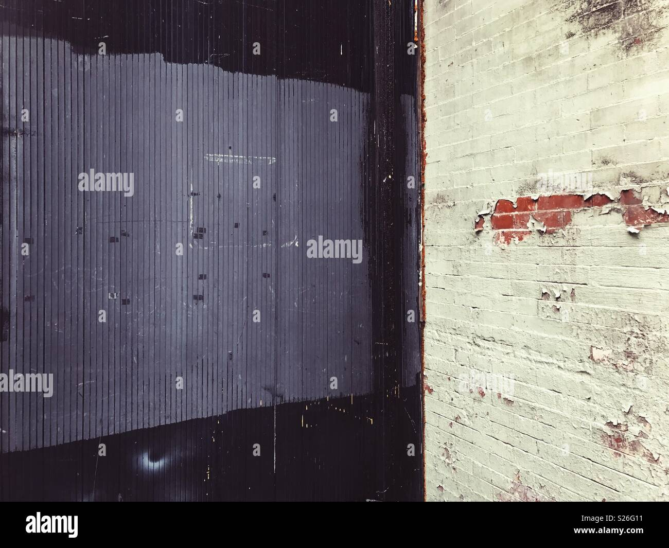 Texturas urbanas en la Ciudad de Nueva York, EE.UU.. Imagen De Stock