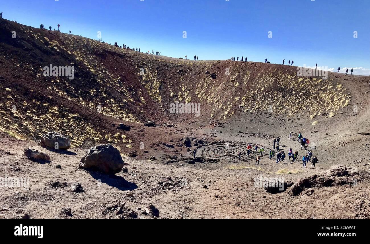 Monte etna Imagen De Stock