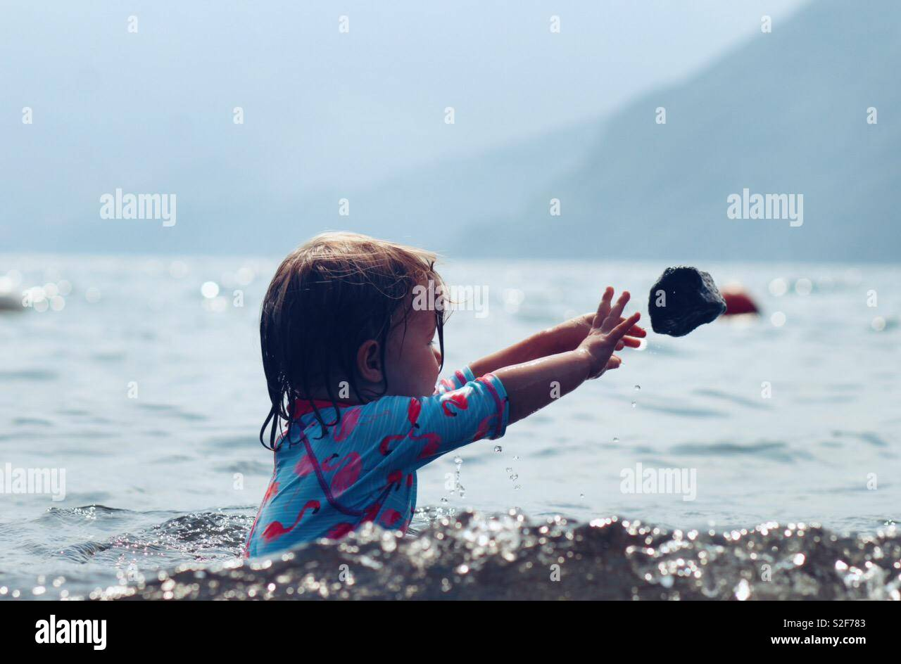 Splash Foto de stock