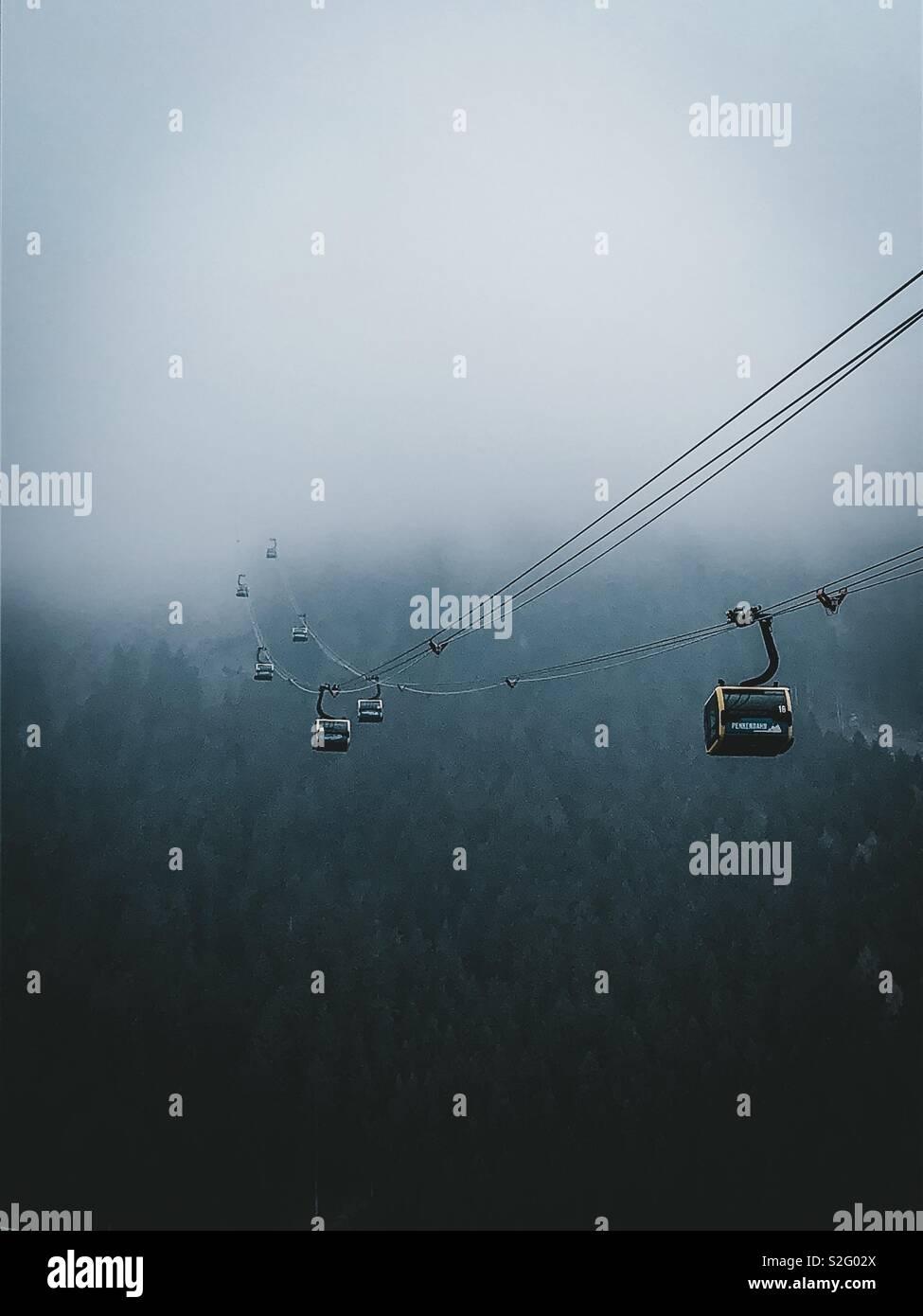 Esquí de fondo Imagen De Stock