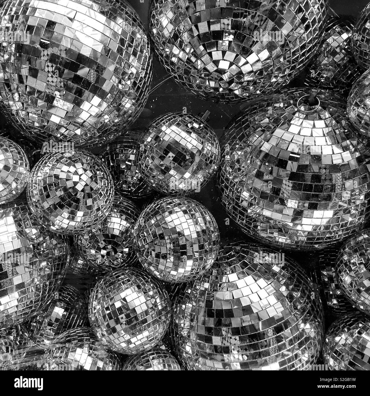 Bolas de discoteca Foto de stock