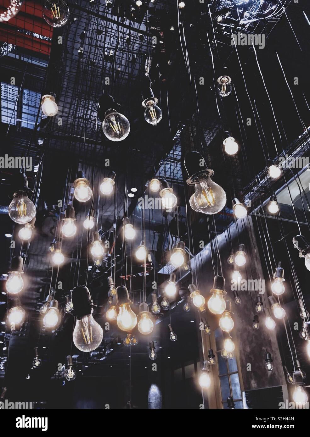 Ser siempre la luz. Imagen De Stock