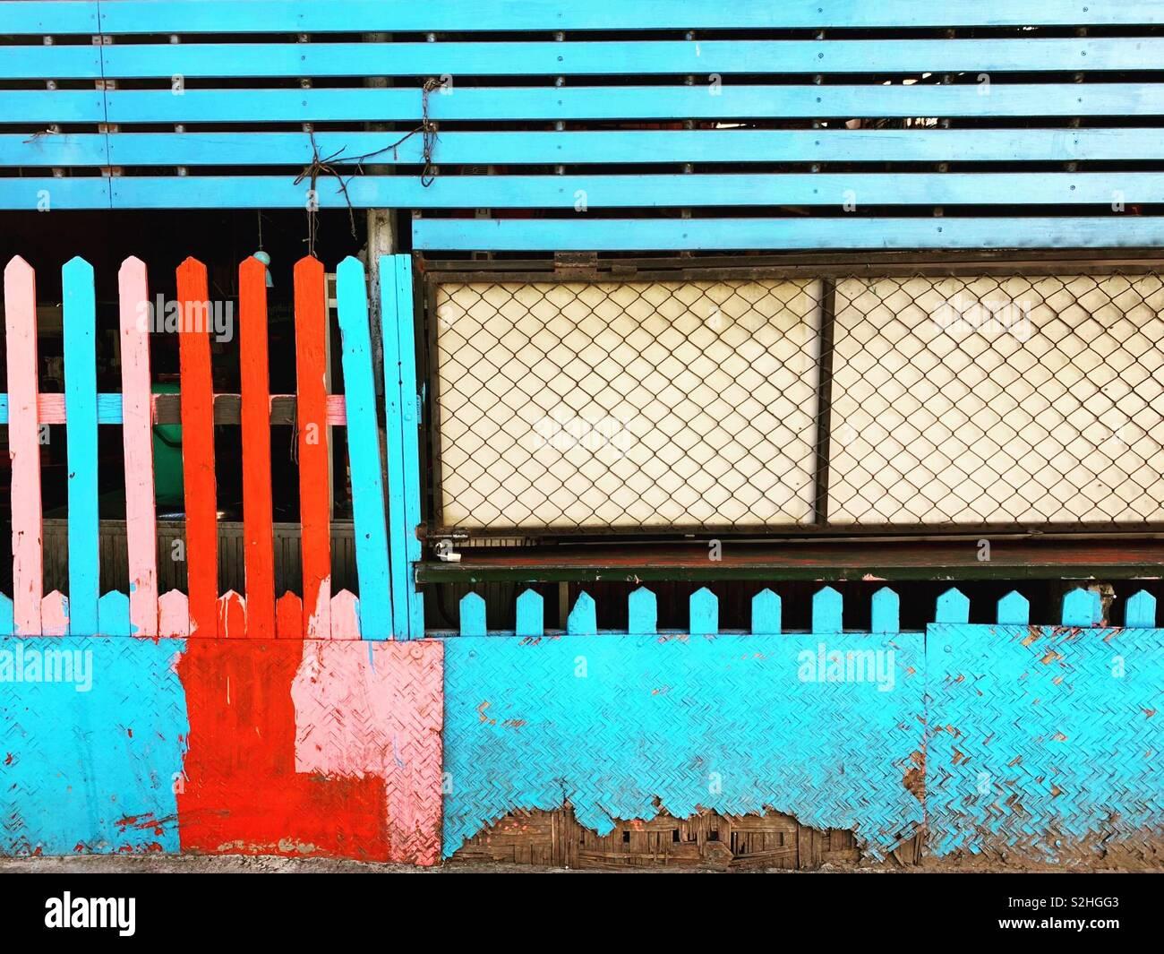 Decaimiento urbano Foto de stock