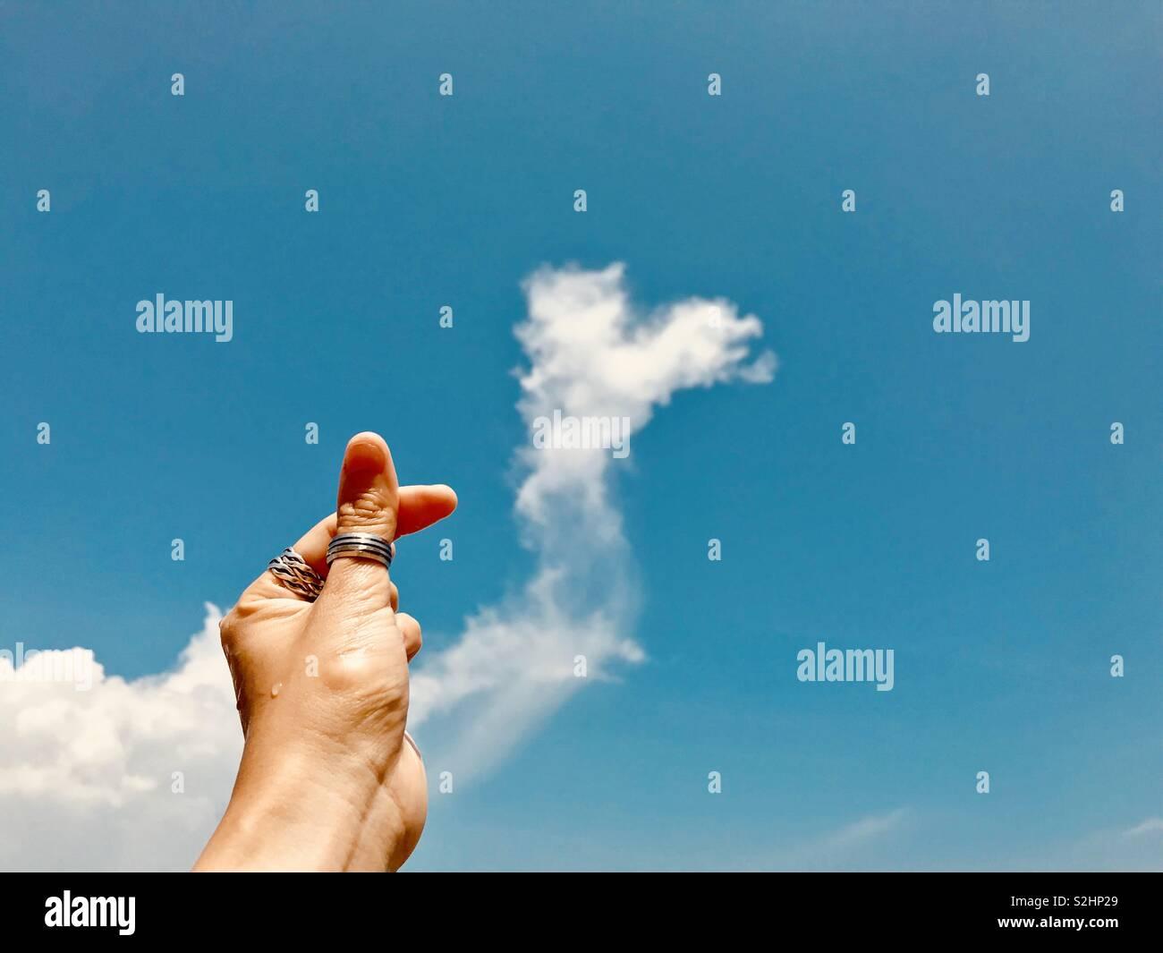 La vida es el amor. Imagen De Stock