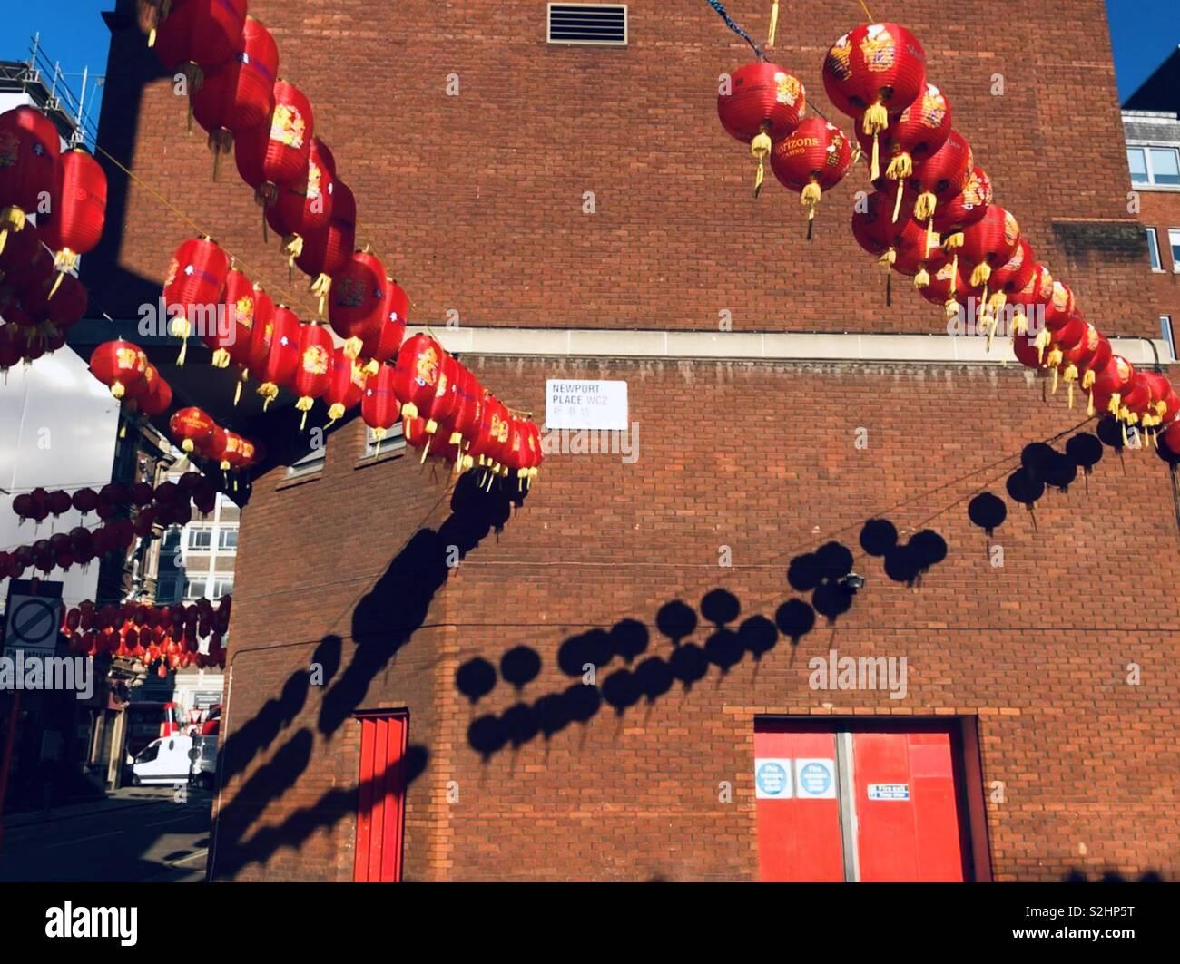 Londres en la ciudad de Chiba sun Imagen De Stock