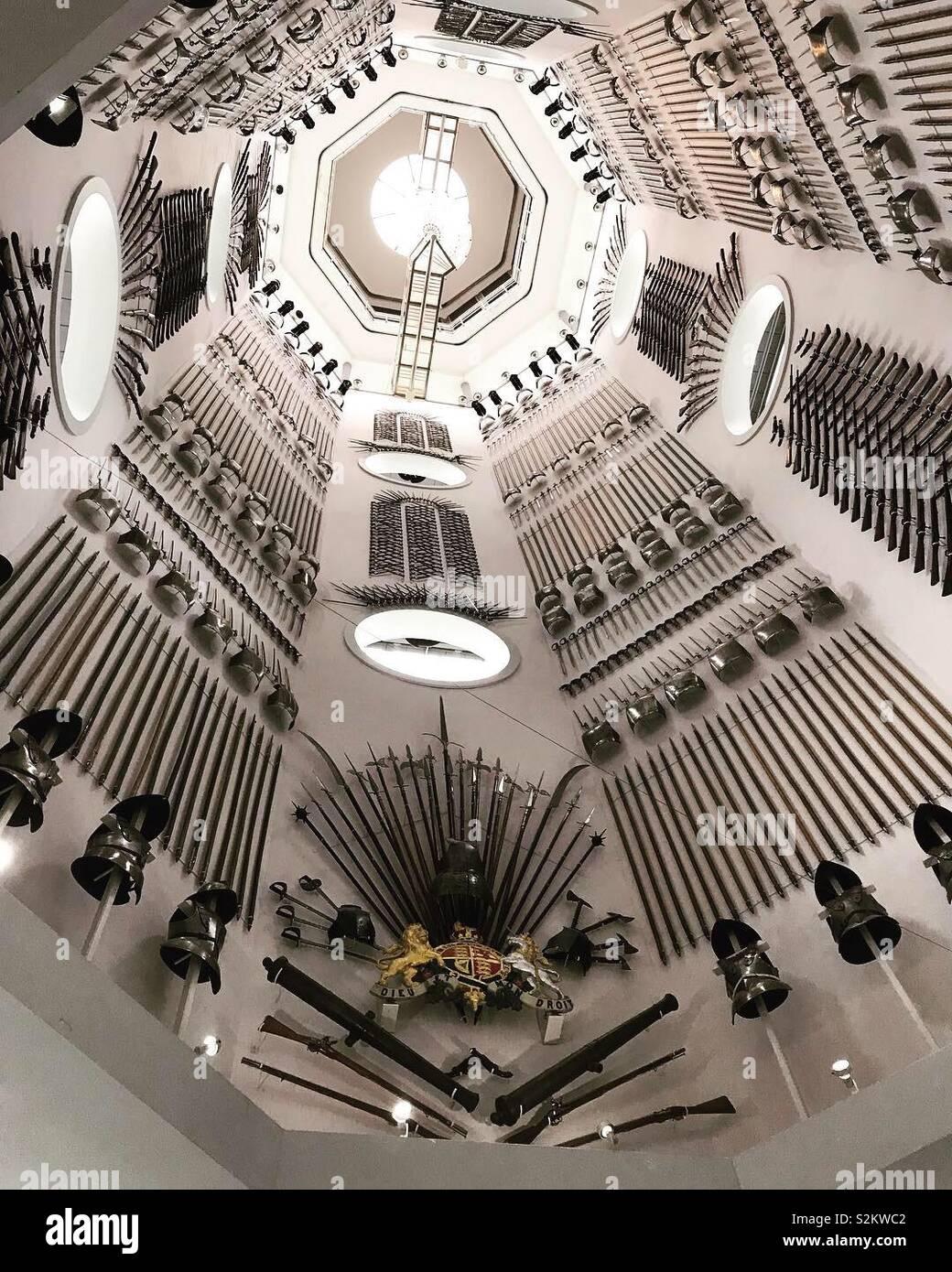 Royal Armouries, Leeds, Reino Unido Foto de stock