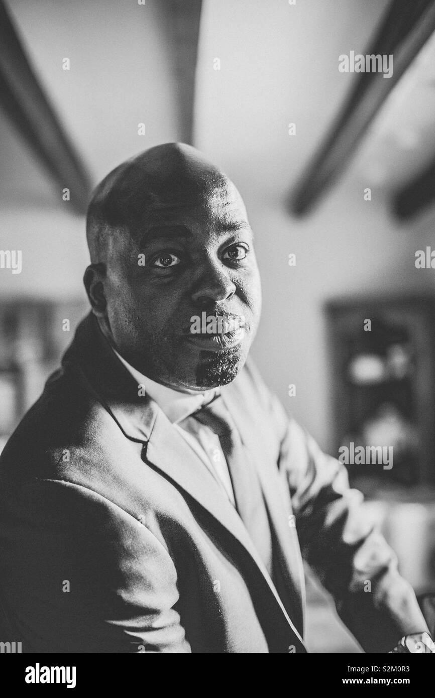 El hombre de negocios Foto de stock