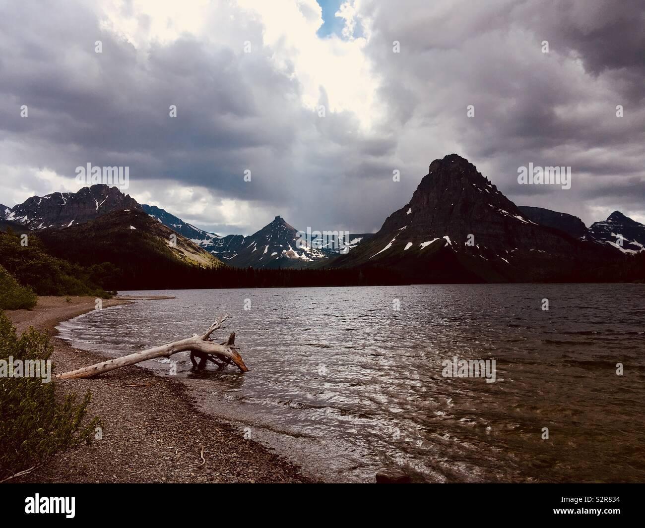 Lago en el Parque Nacional de Los Glaciares. Imagen De Stock
