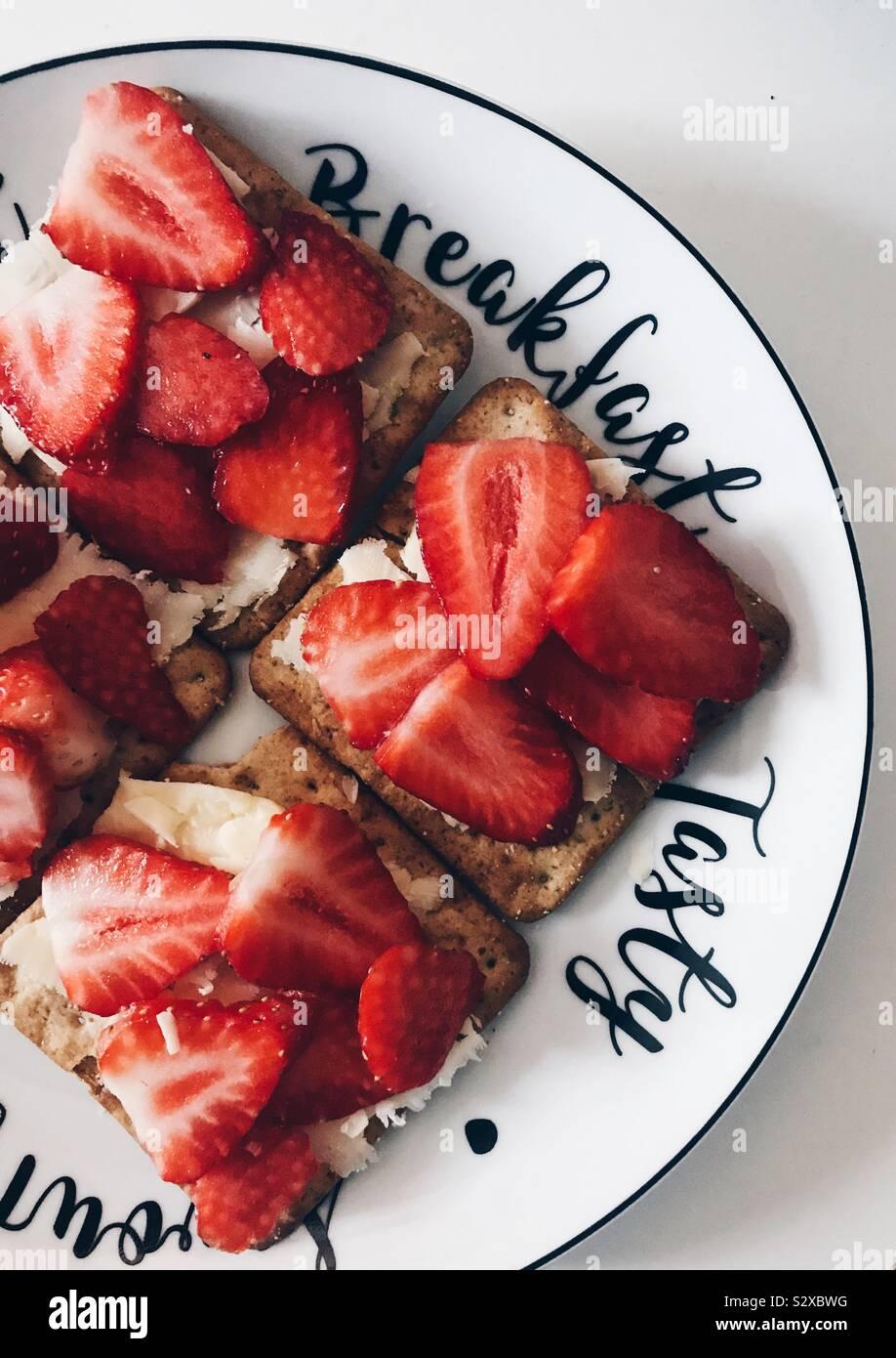 Desayuno Foto de stock