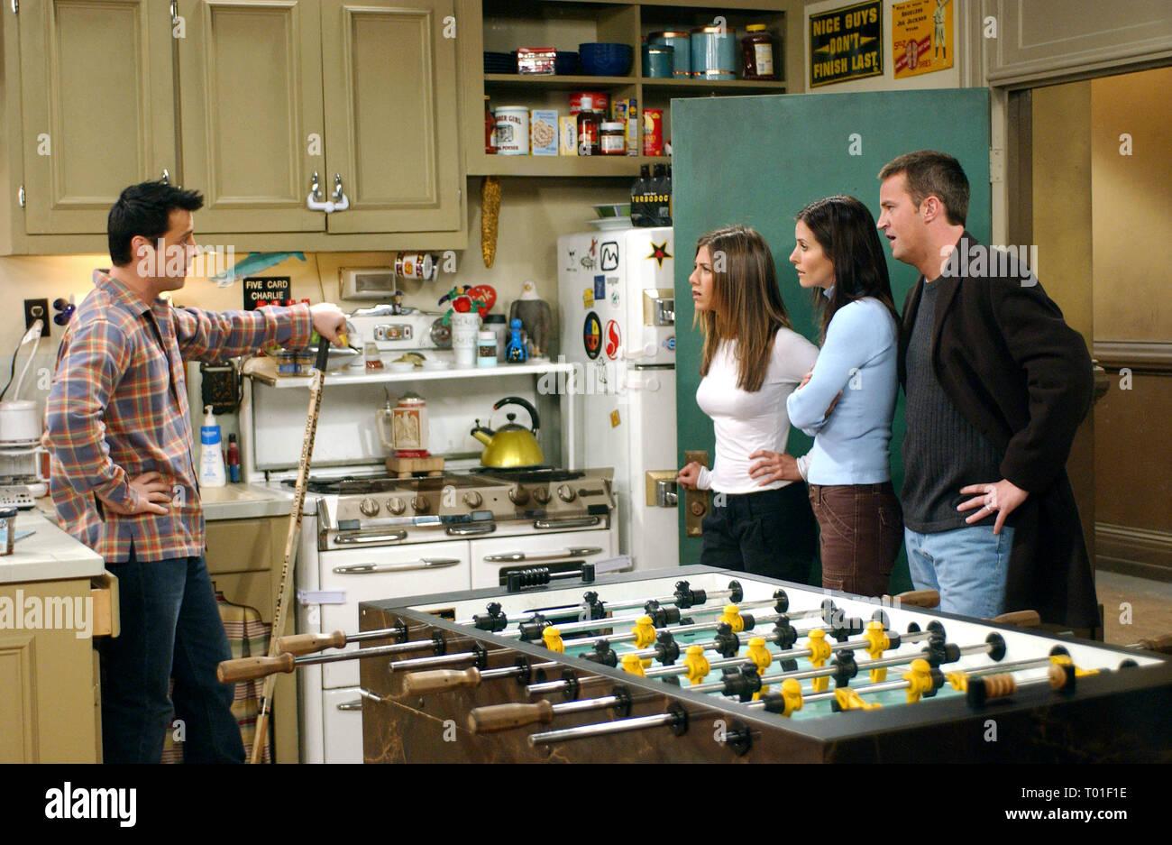 Amigos : Temporada 9, Matt LEBLANC, Jennifer Aniston, COURTENEY COX, Matthew Perry, 2002 Foto de stock