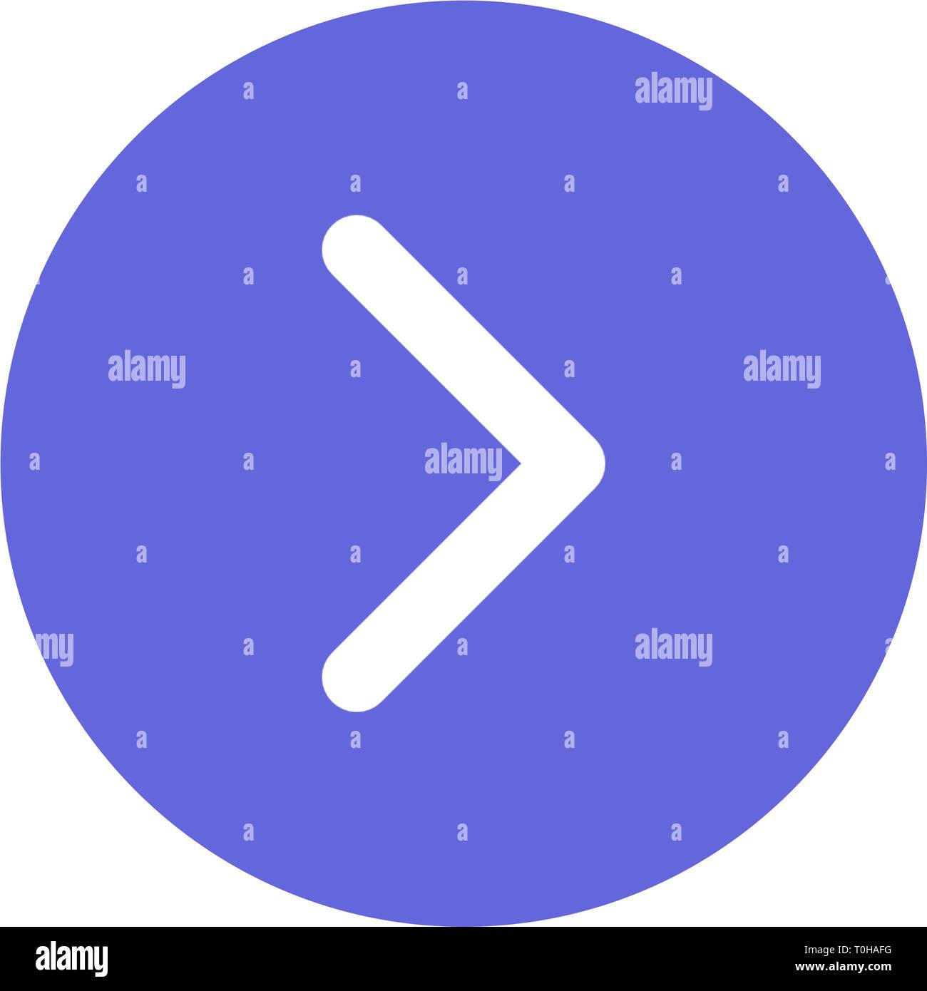 Navegación flecha superior a IOS y Android App Móvil iconos y botones Web Imagen De Stock
