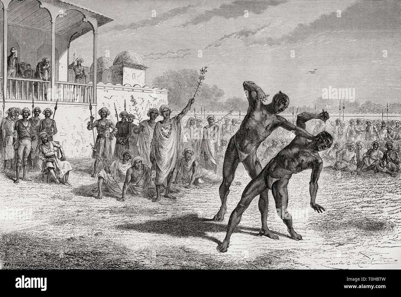 El deporte en la sangre Baroda, India, Asia Imagen De Stock