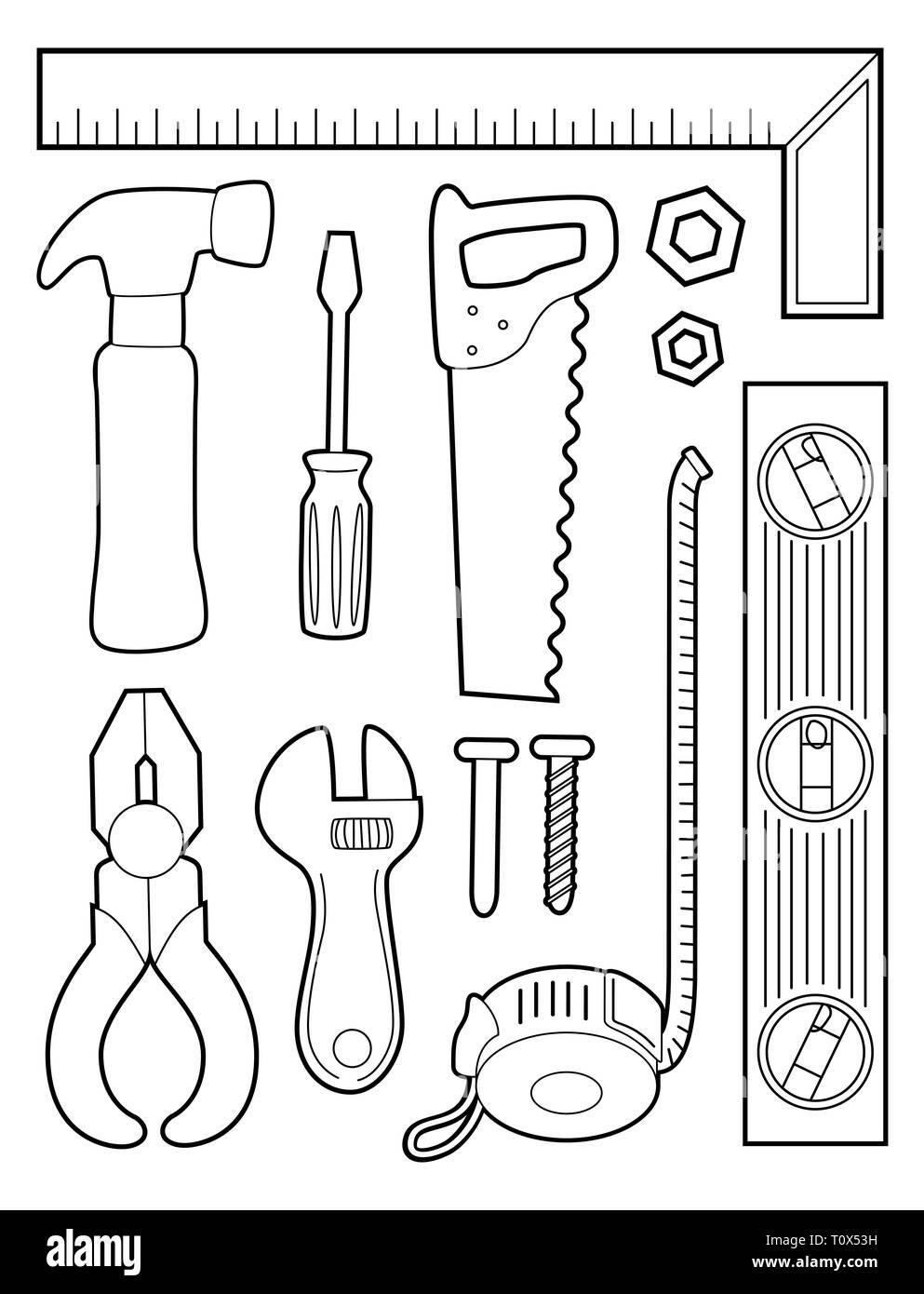 Cartoon Pliers Imágenes De Stock Cartoon Pliers Fotos De Stock Alamy