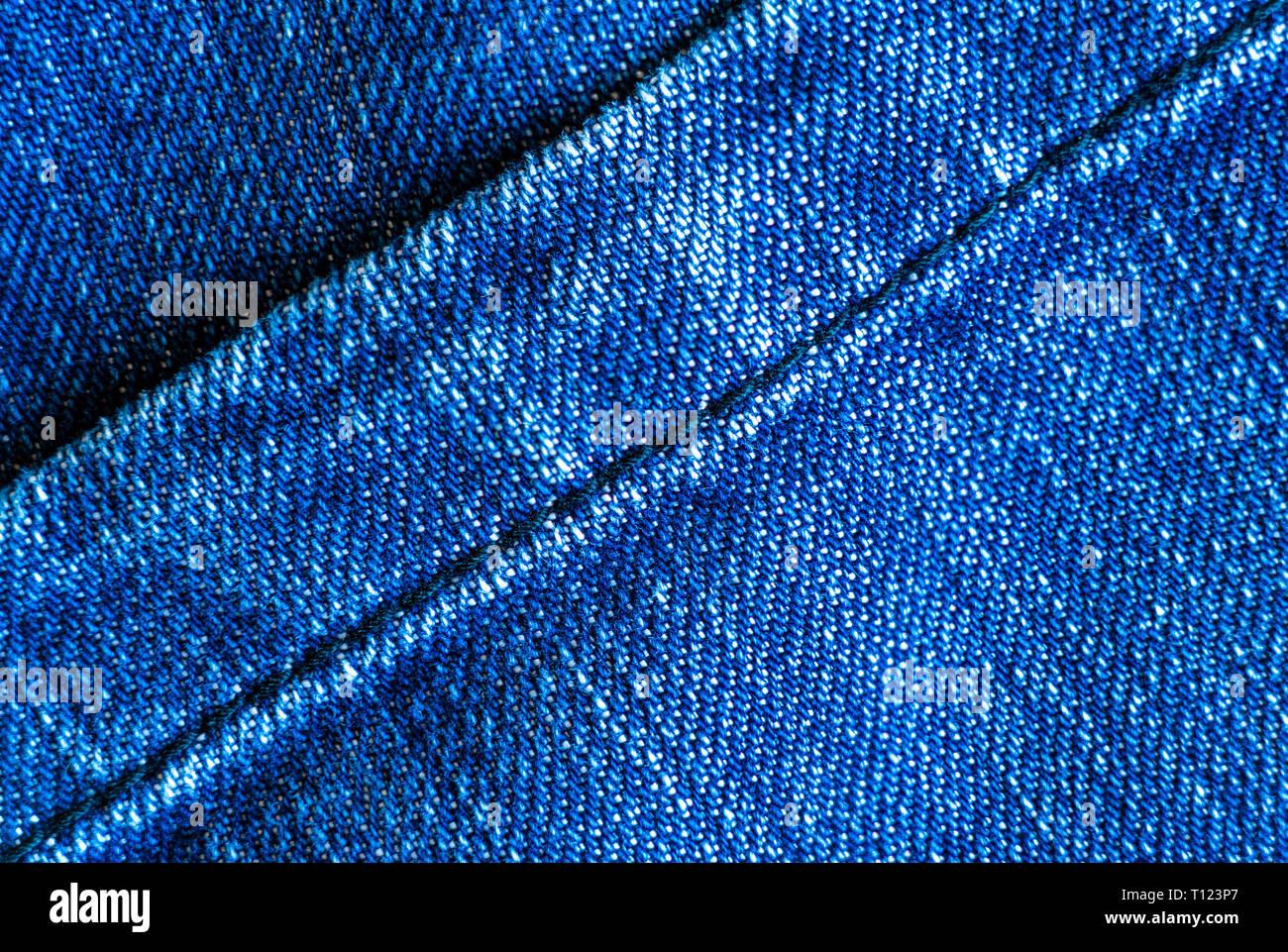 c4b47df5a2 Denim áspero o tejido de algodón o jeans material con la costura cosida  para el textil