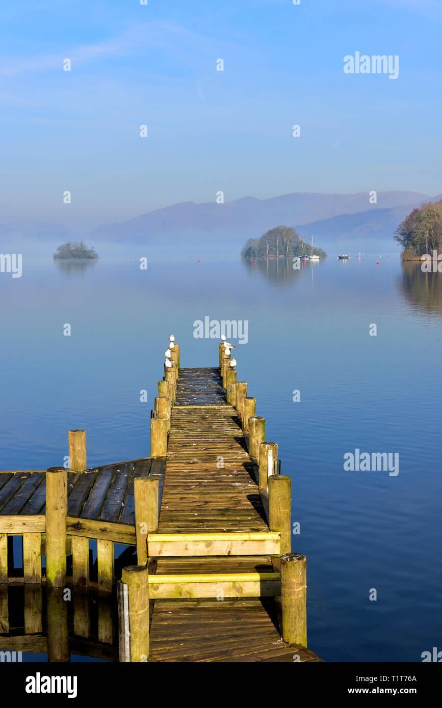 Bowness On Windermere, Cumbria, Lake District, Inglaterra, Reino Unido Foto de stock