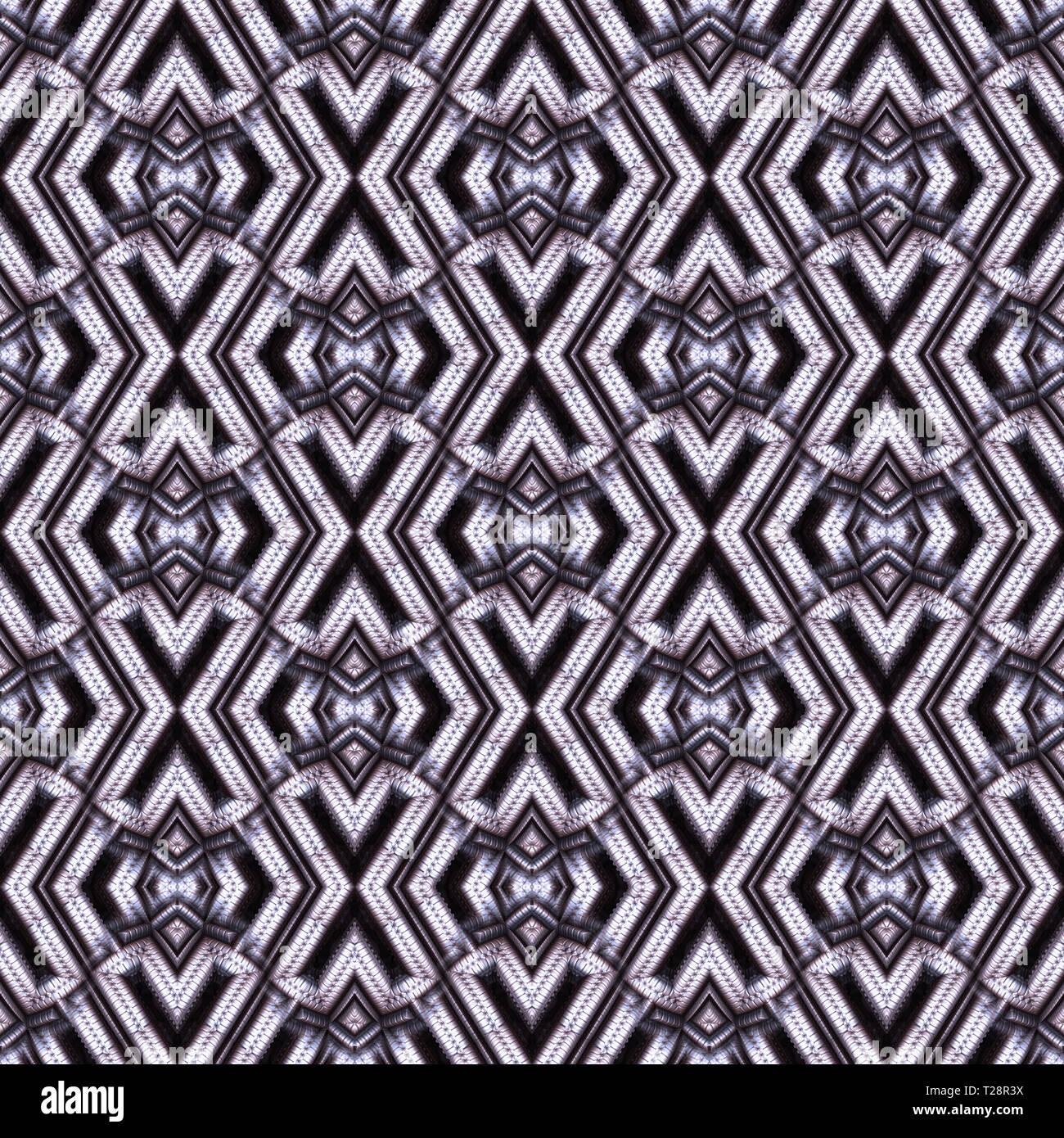 595ae8c4edc Seamless, abstracto y geométrico en 3D, papel pintado de gris. Un patrón  decorativo