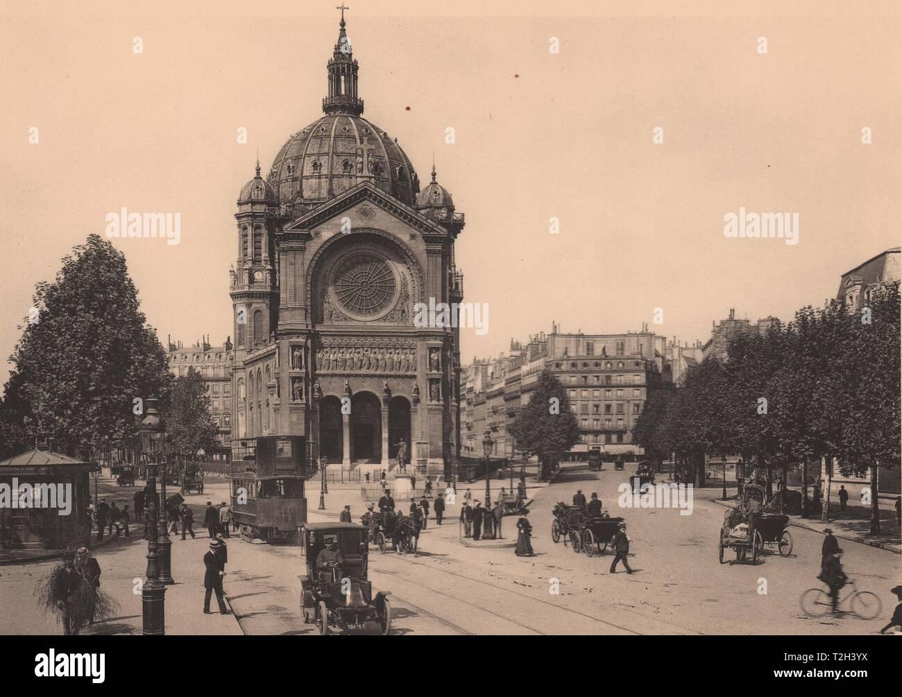Eglise Saint Augustin Foto de stock