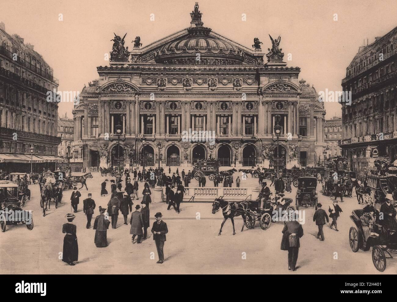 L'Opéra Foto de stock
