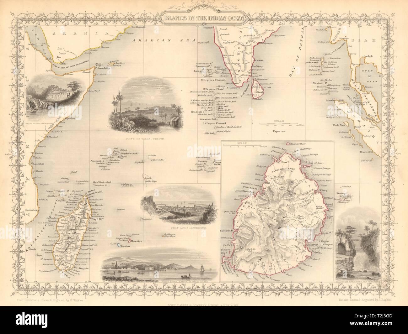 Islas Del Oceano Indico Mauricio Seychelles Madagascar Mv
