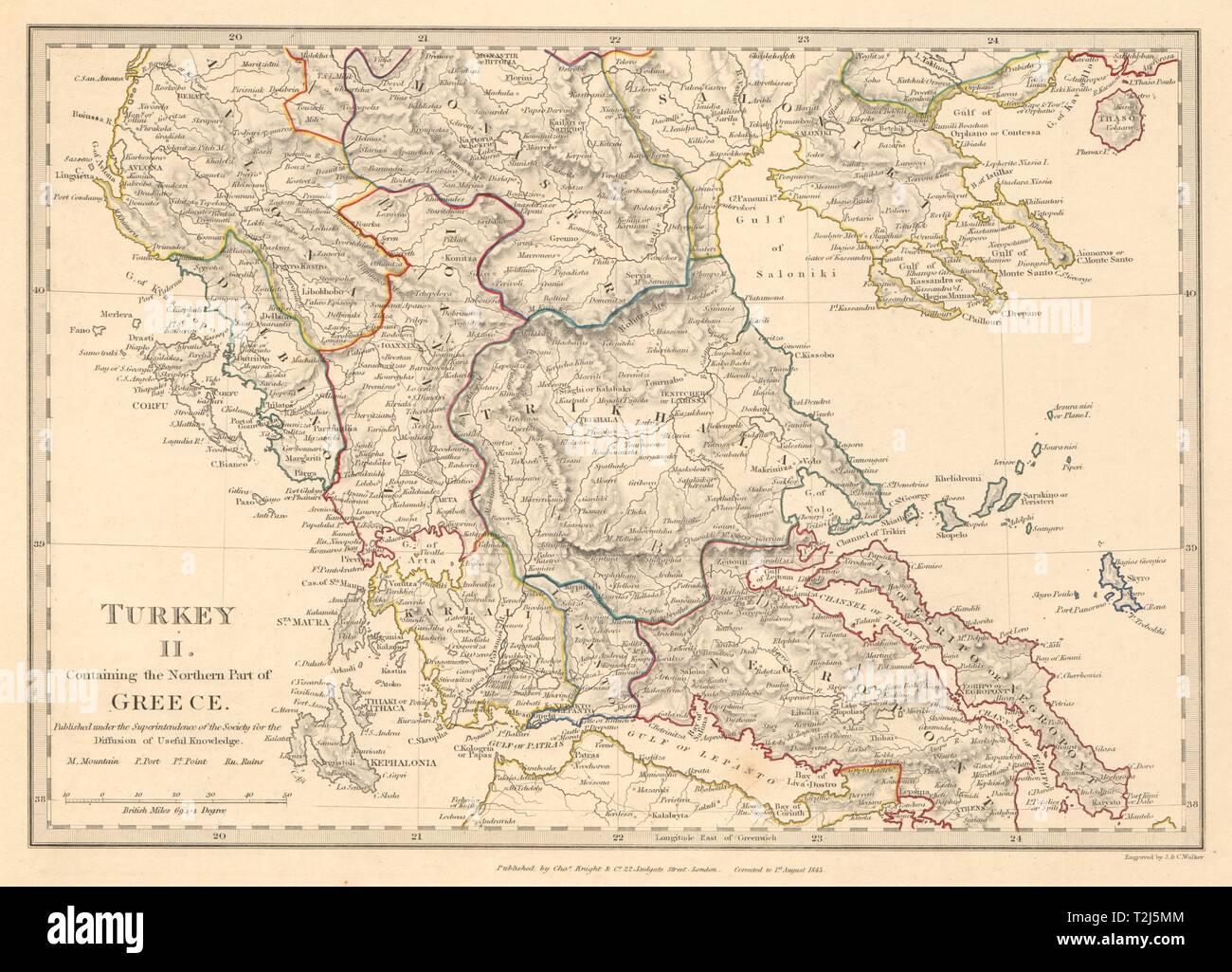 Grecia Corfu Ionian Eubea Kephalonia Salonica Lepanto Ioannina