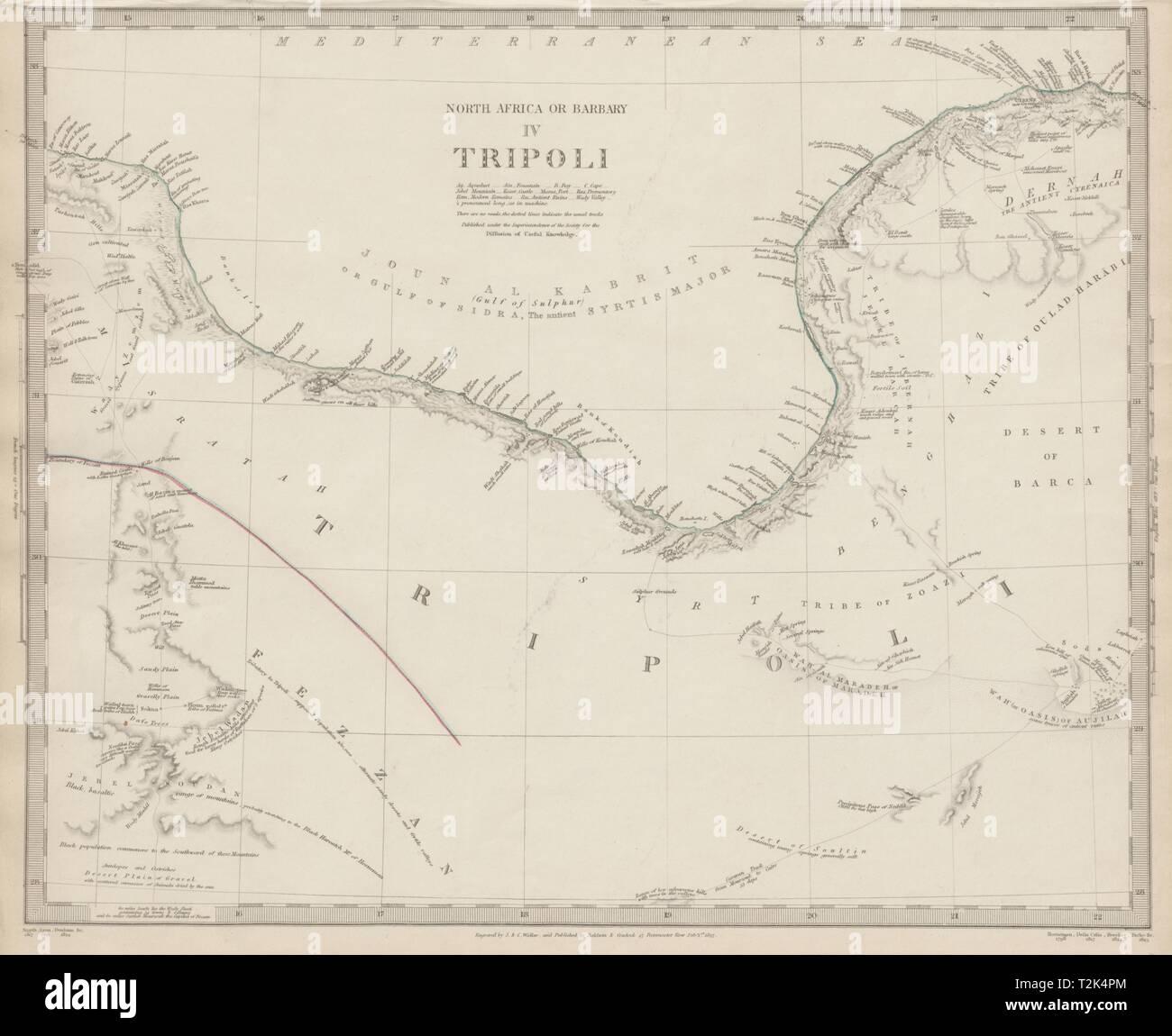 Golfo De Sirte Mapa.Libia Golfo De Sidra En Sirte El Norte De Africa O De