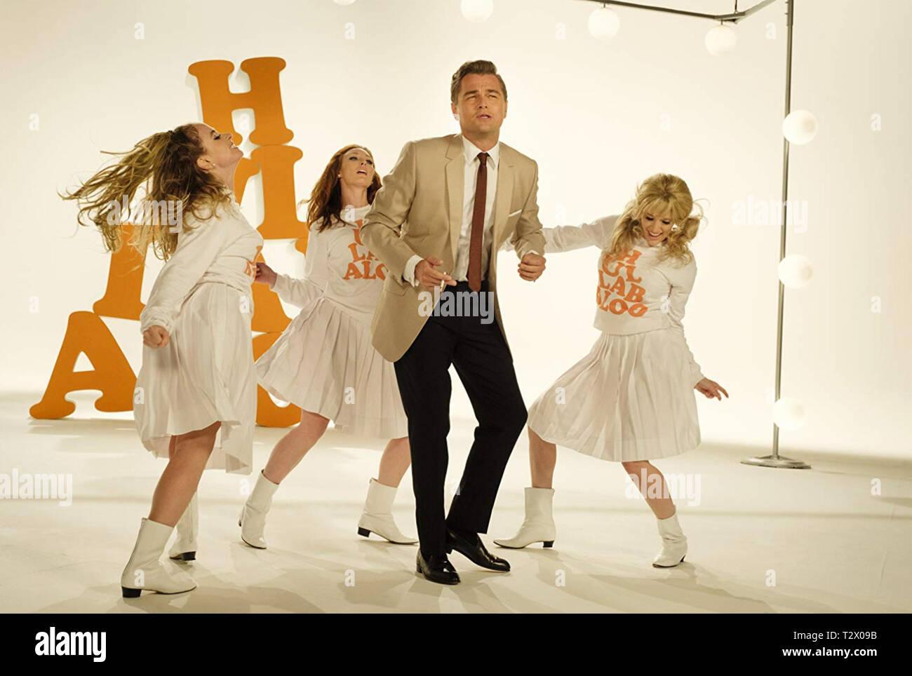 Érase una vez en Hollywood en 2019 la película de Sony Pictures con Leonardo DiCaprio Imagen De Stock