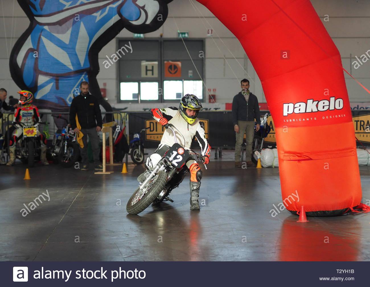 Motor bike expo Verona 2019 Imagen De Stock