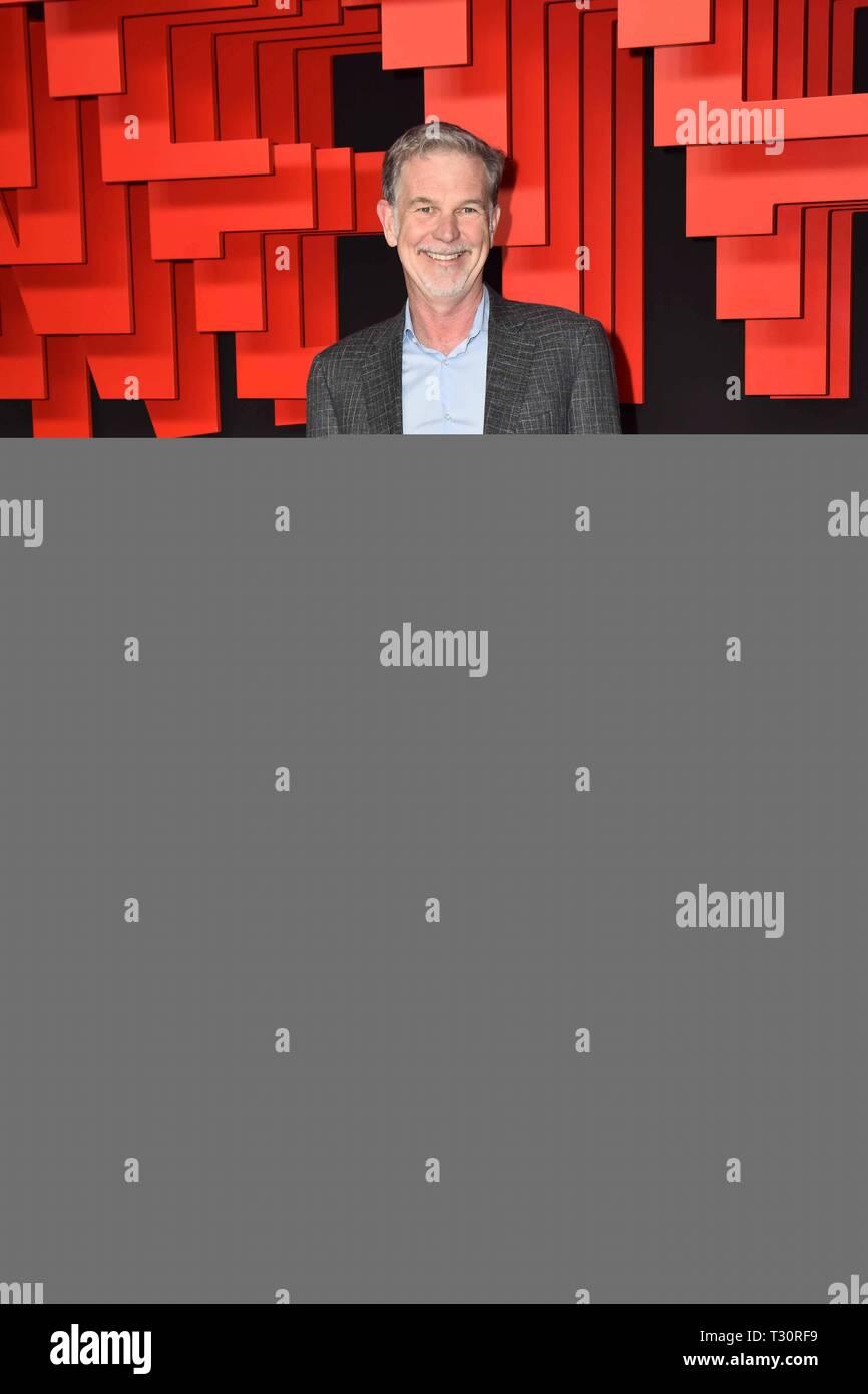 04/04/2019.- Presentacion Netflix España Foto: invitados al evento Netflix llega a España Presentación de Netflix en España Madrid Cordon Press Imagen De Stock