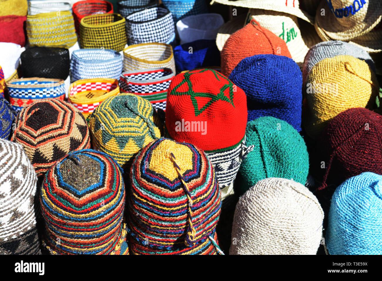 amplia selección zapatos elegantes 2019 mejor venta Sombreros Marroquíes Imágenes De Stock & Sombreros ...