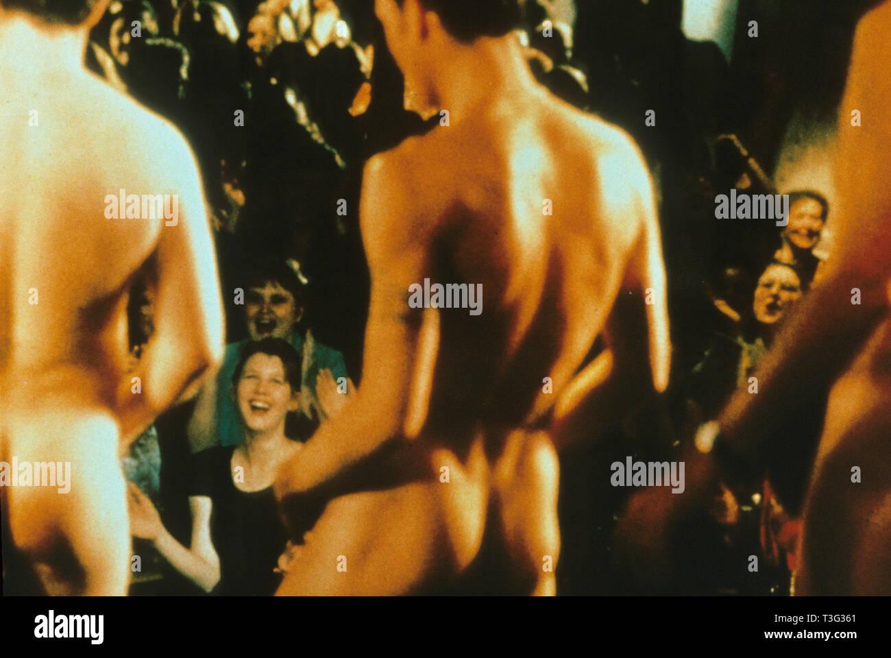 FULL MONTY 1997 Canal 4 film Imagen De Stock