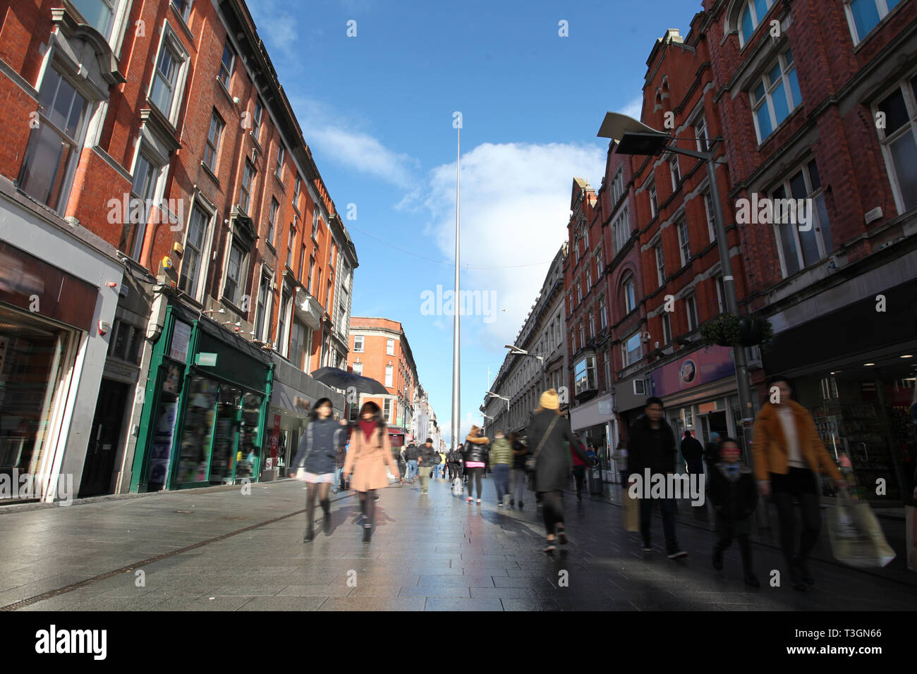 Otro hermoso día en Dublín Imagen De Stock