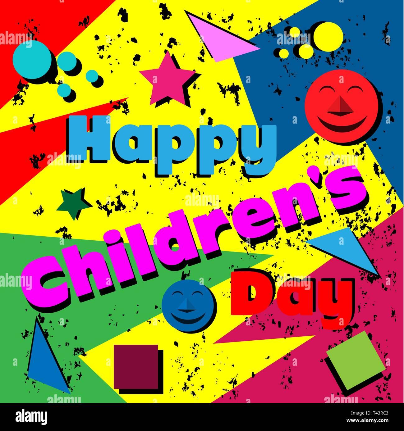Feliz Día Del Niño De Plantilla Diseño Para Web Creative