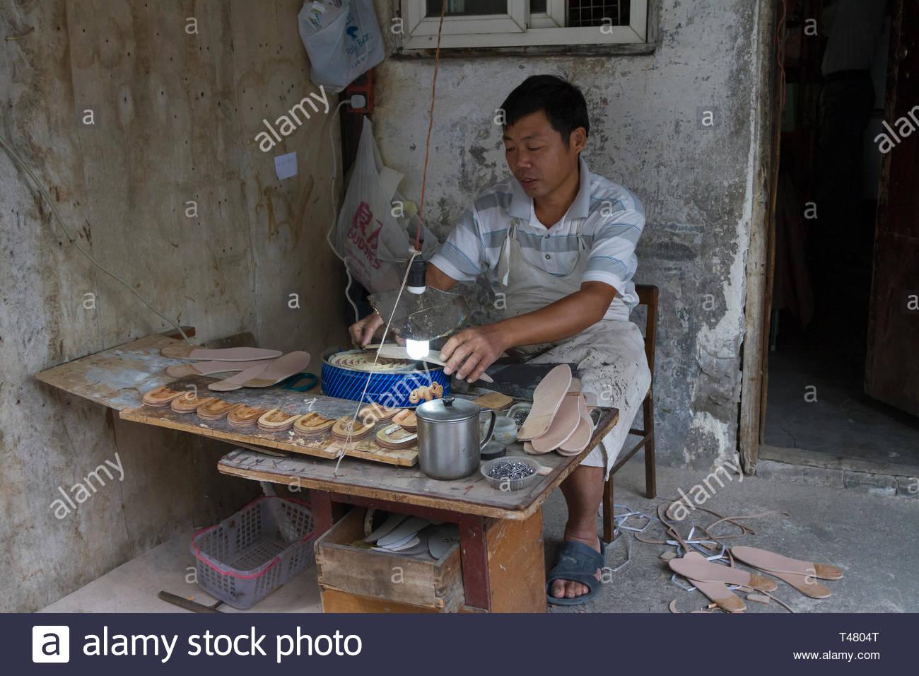 Escenas Callejeras de Shanghai Imagen De Stock