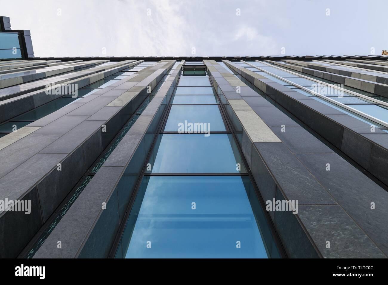 La arquitectura, de la Universidad de Leipzig, Sajonia, Alemania, Europa Foto de stock