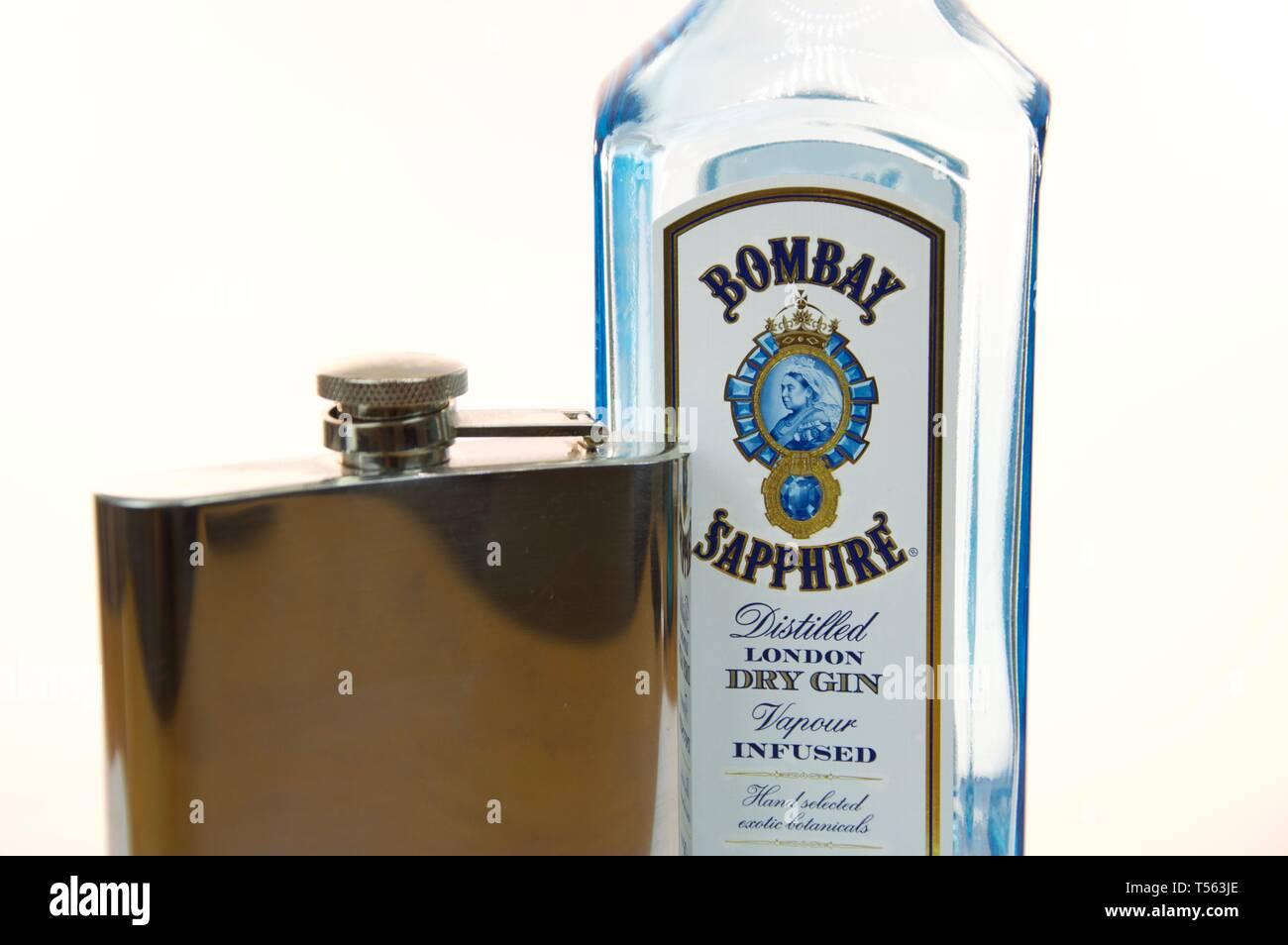 Gin On Display Imágenes De Stock & Gin On Display Fotos De