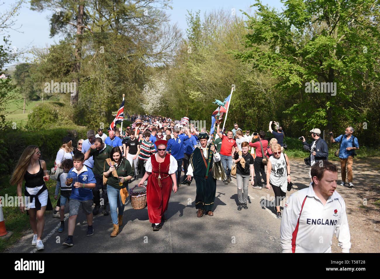 Antes La Vecina warrener john morrison lidera el pastel de liebre desfile