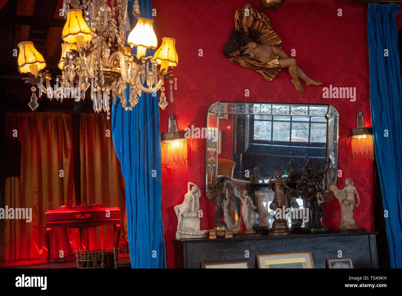 Pensao Amor Bar en Lisboa, Portugal. Imagen De Stock