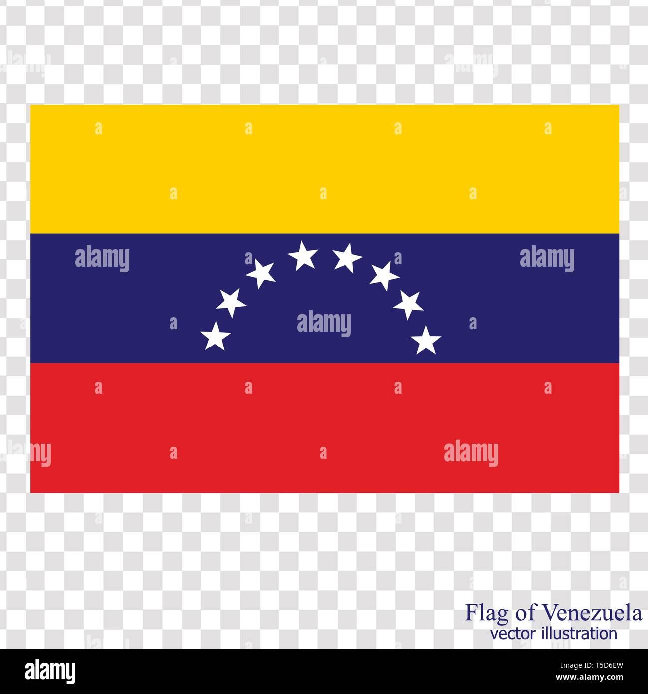 Banner Con Bandera De Venezuela Ilustración Colorida Con