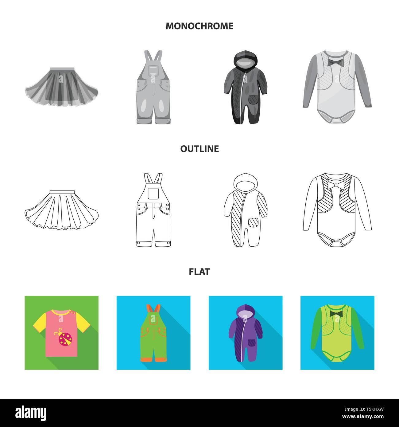 Ilustración Vectorial De La Moda Y Del Logotipo De Prendas