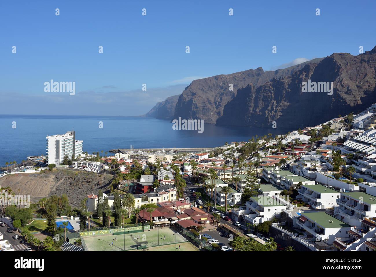 Islas Canarias Tenerife Los Gigantes, Santiago. Imagen De Stock