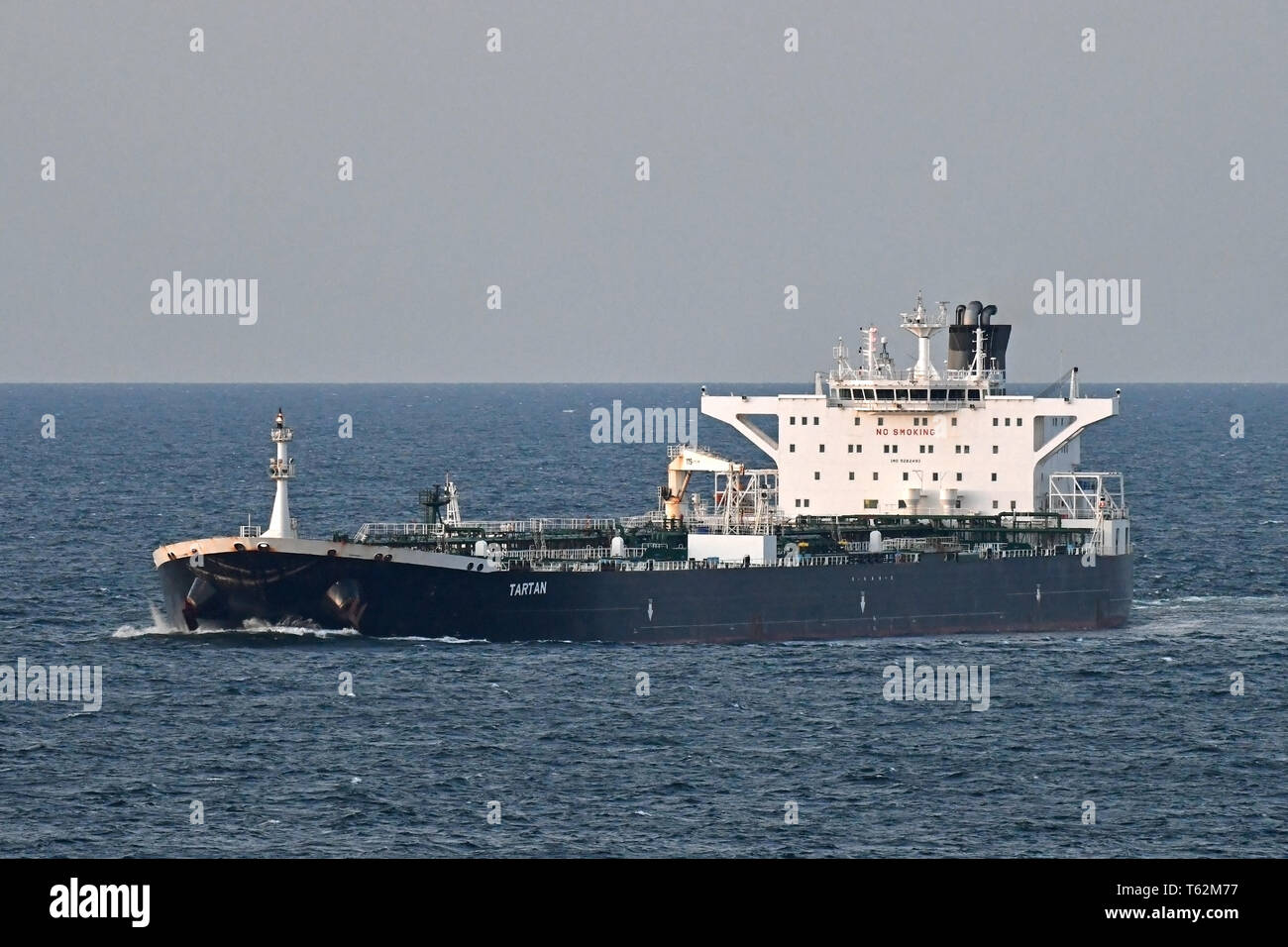 Petrolero de crudo Tartan Imagen De Stock