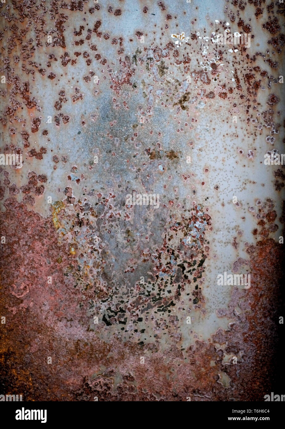 Resumen El patrón de óxido de metal textura del fondo Foto de stock