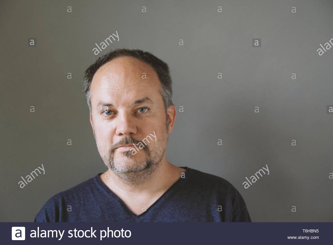 De mediana edad 44 algo hombre con bigote Imagen De Stock