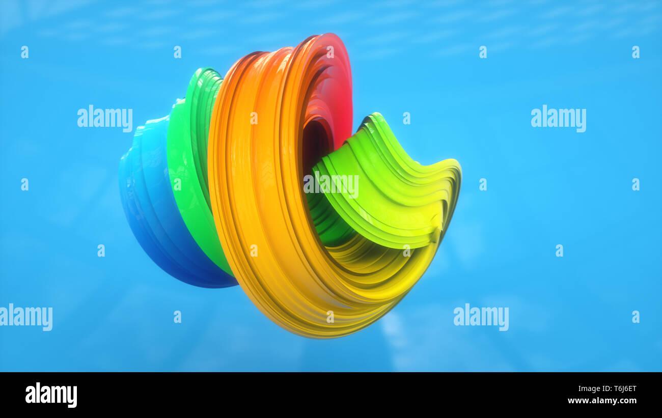 Resumen Antecedentes coloridos ilustración Foto de stock